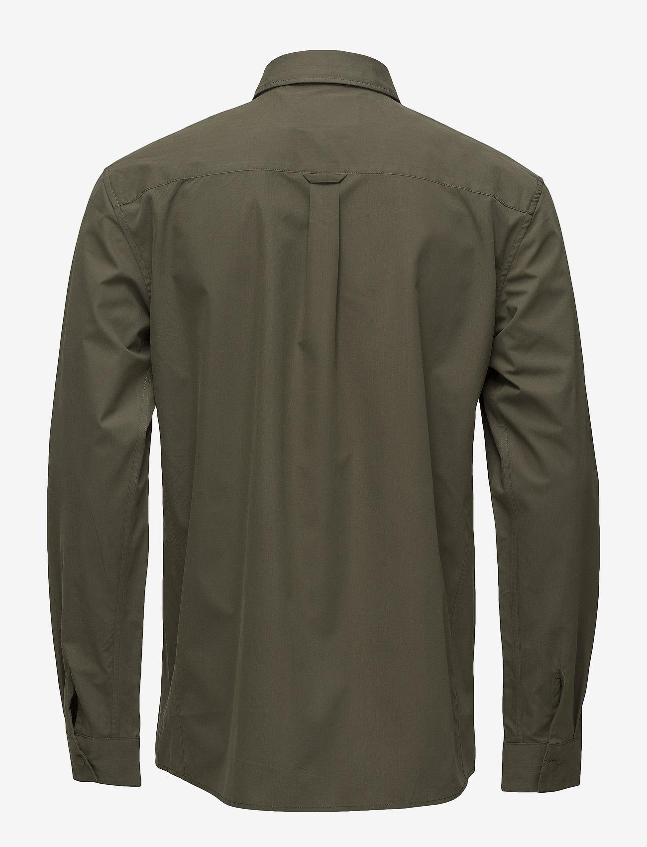 Lyle & Scott - Zip Pocket Overshirt - overshirts - olive