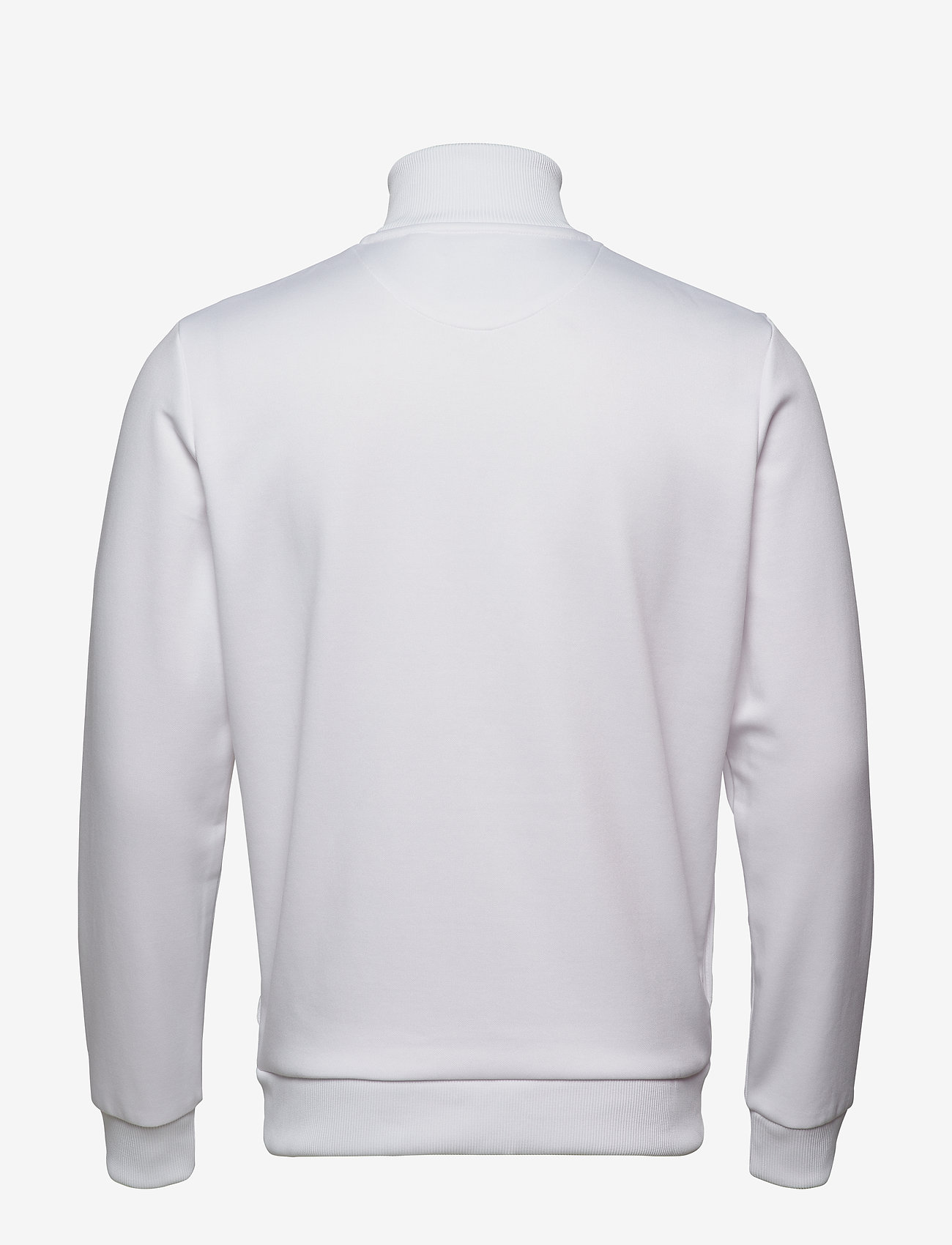 Lyle & Scott Archive Panel Funnel Neck - Sweatshirts WHITE - Menn Klær