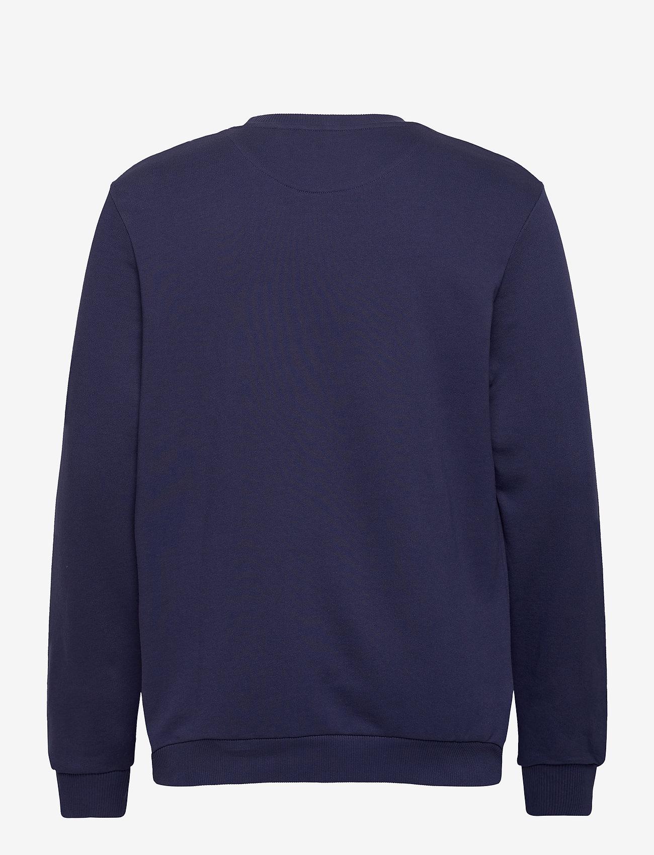 Lyle & Scott Crest Sweatshirt - Sweatshirts NAVY - Menn Klær