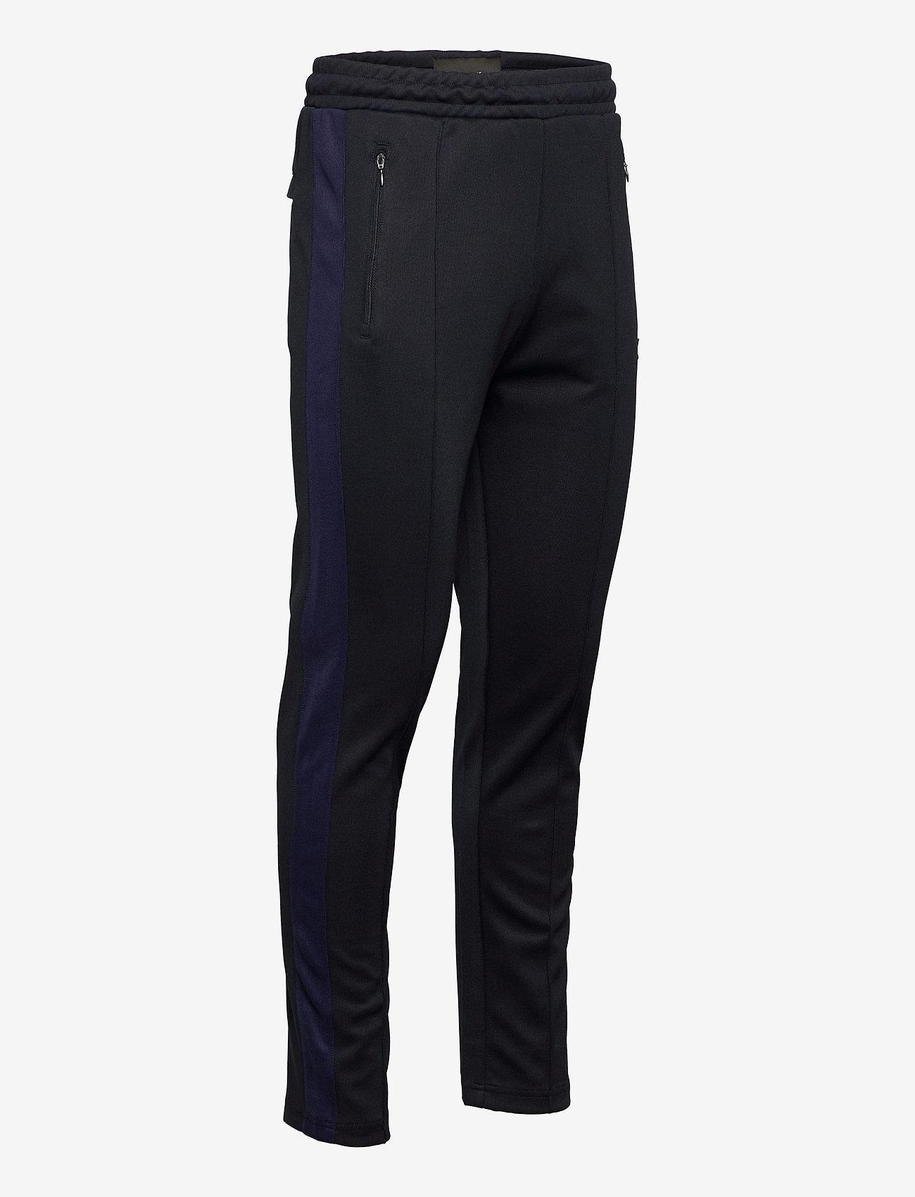 Lyle & Scott Tricot Sweatpant With Side Stripe - Joggebukser DARK NAVY - Menn Klær