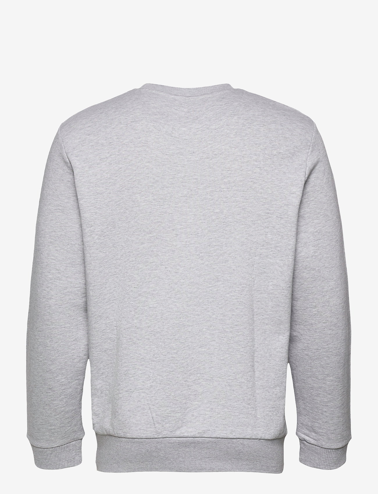 Lyle & Scott - Bottom Branded Crew Neck - sweats basiques - light grey marl - 1