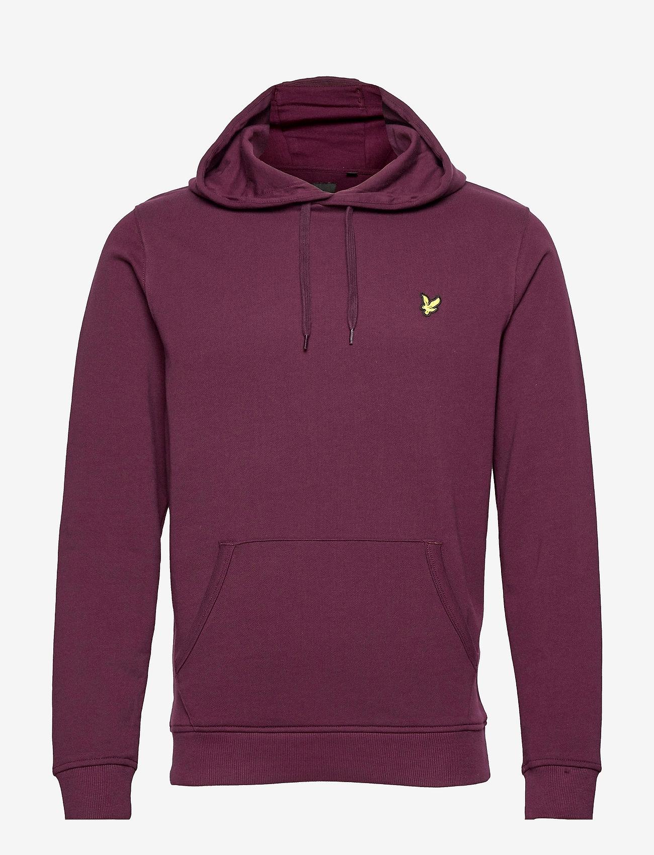 Lyle & Scott - Pullover Hoodie - hoodies - burgundy - 0