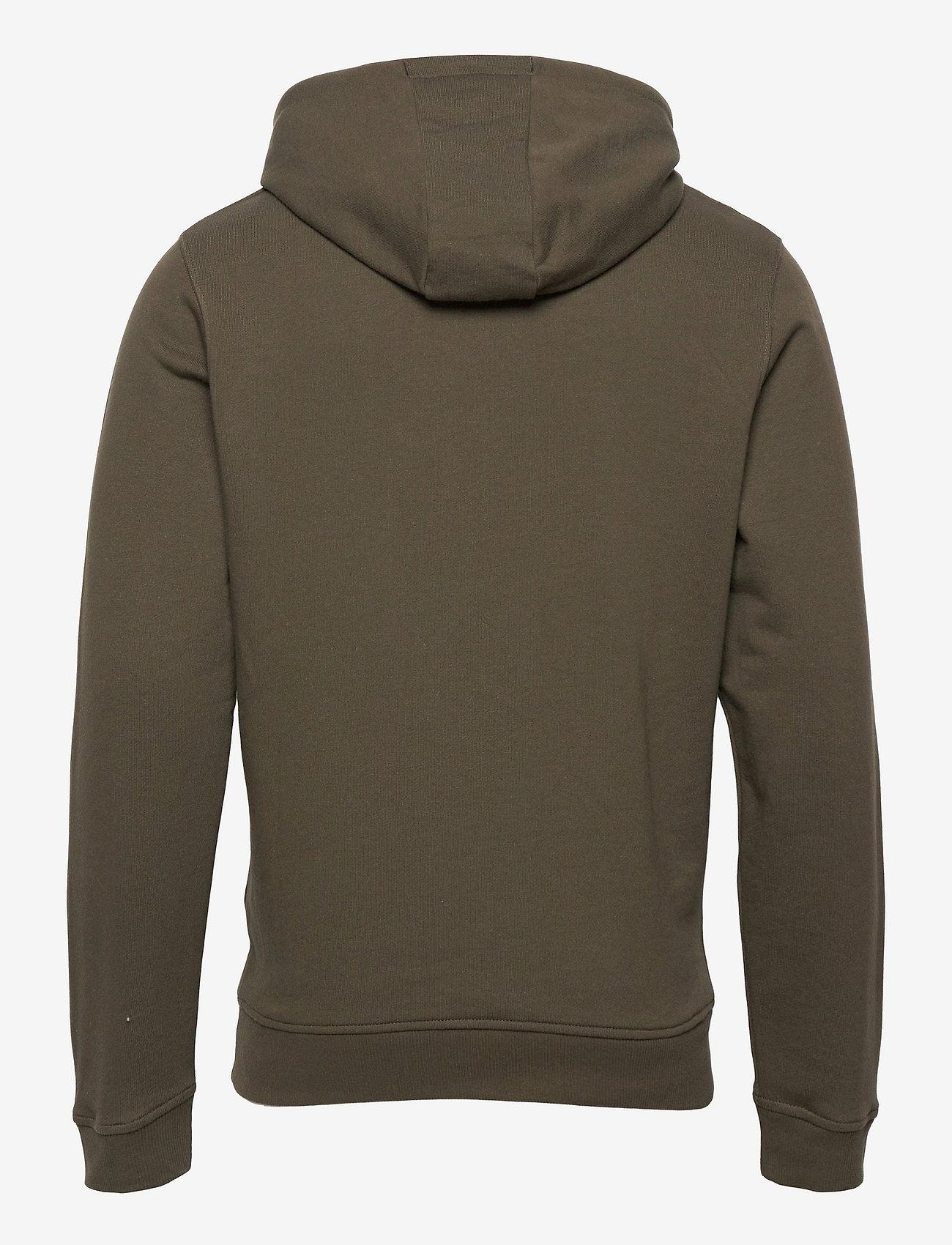 Lyle & Scott - Pullover Hoodie - hoodies - olive - 1