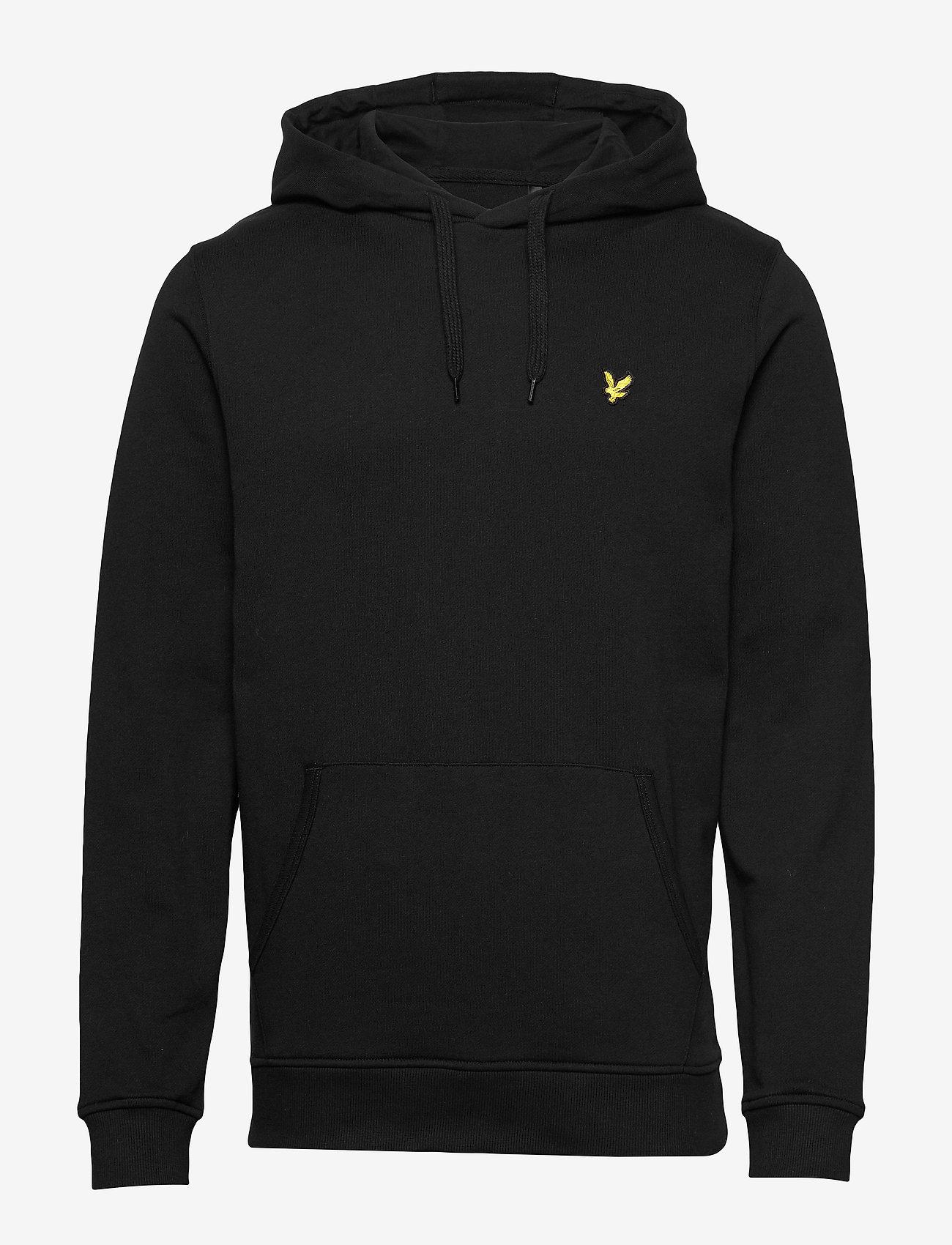 Lyle & Scott - Pullover Hoodie - hoodies - jet black - 0