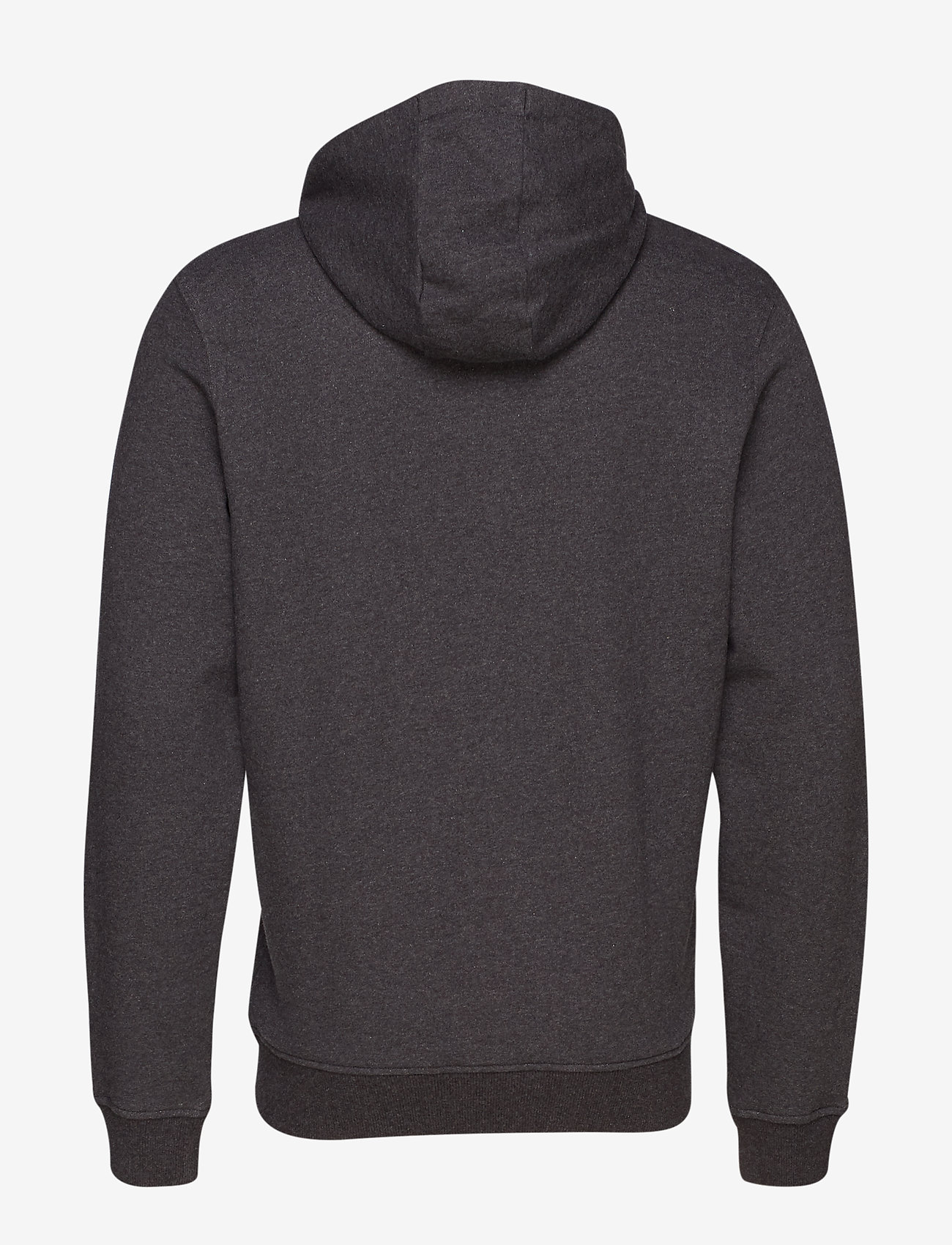 Lyle & Scott - Zip Through Hoodie - hoodies - charcoal marl - 1