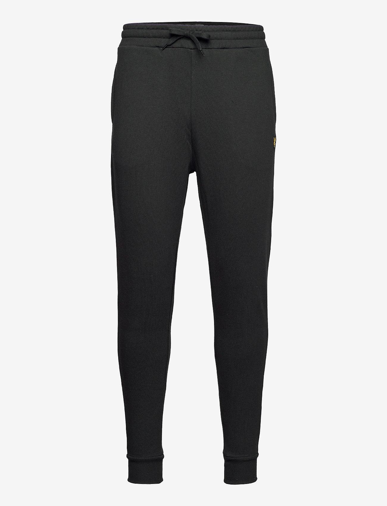 Lyle & Scott - Skinny Sweatpant - kleding - jet black - 0