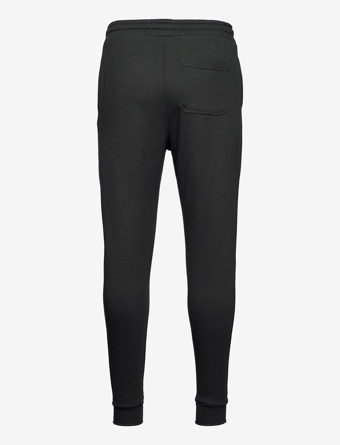 Lyle & Scott - Skinny Sweatpant - kleding - jet black - 1
