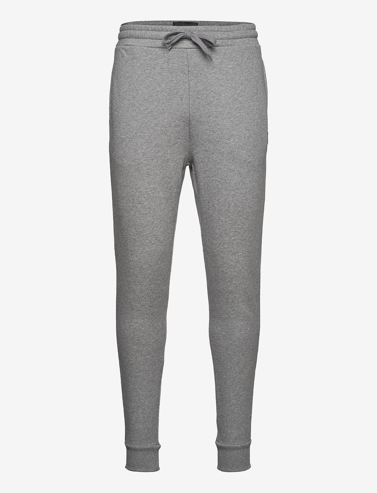 Lyle & Scott - Skinny Sweatpant - kleding - mid grey marl - 0