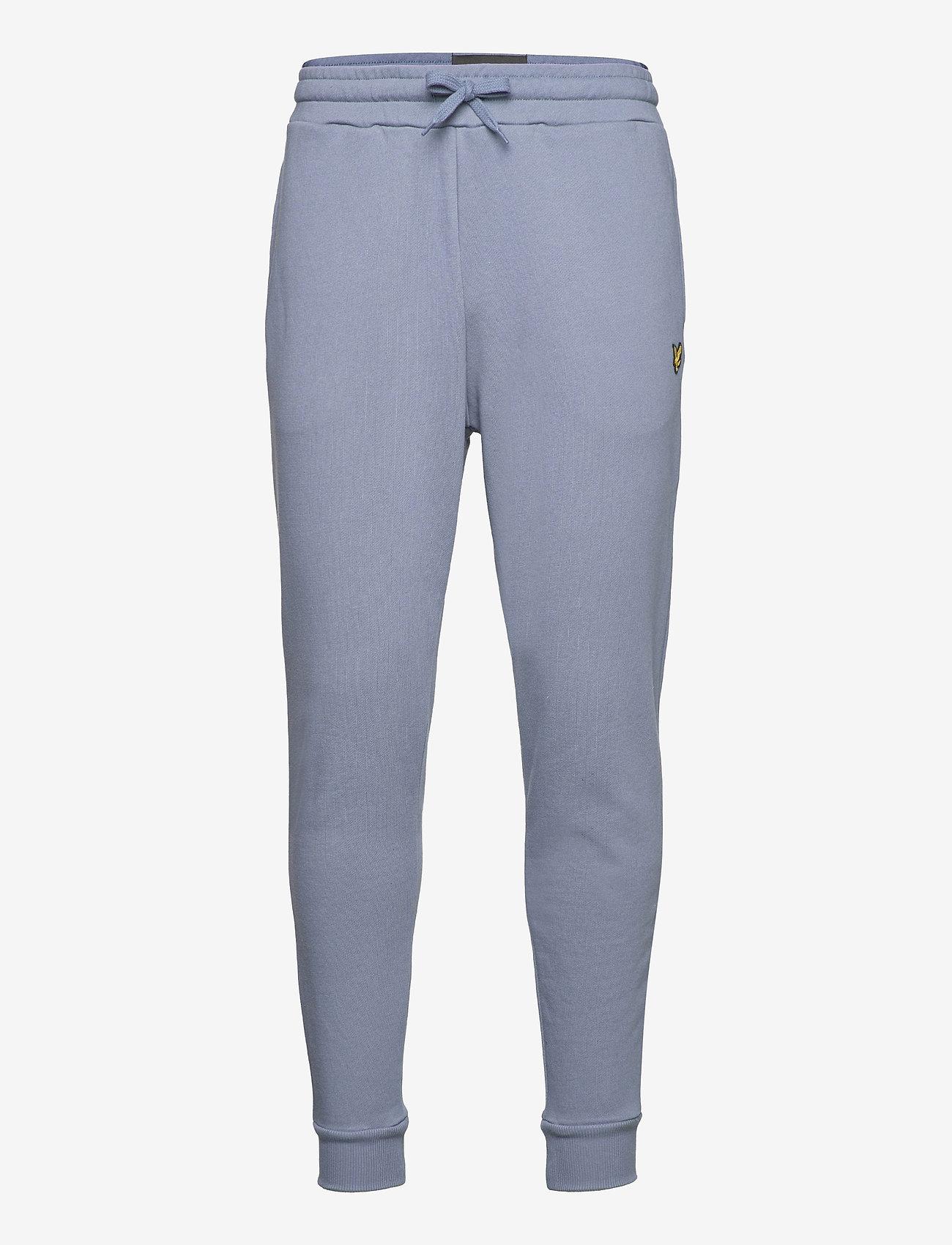 Lyle & Scott - Skinny Sweatpant - kleding - slate blue - 0