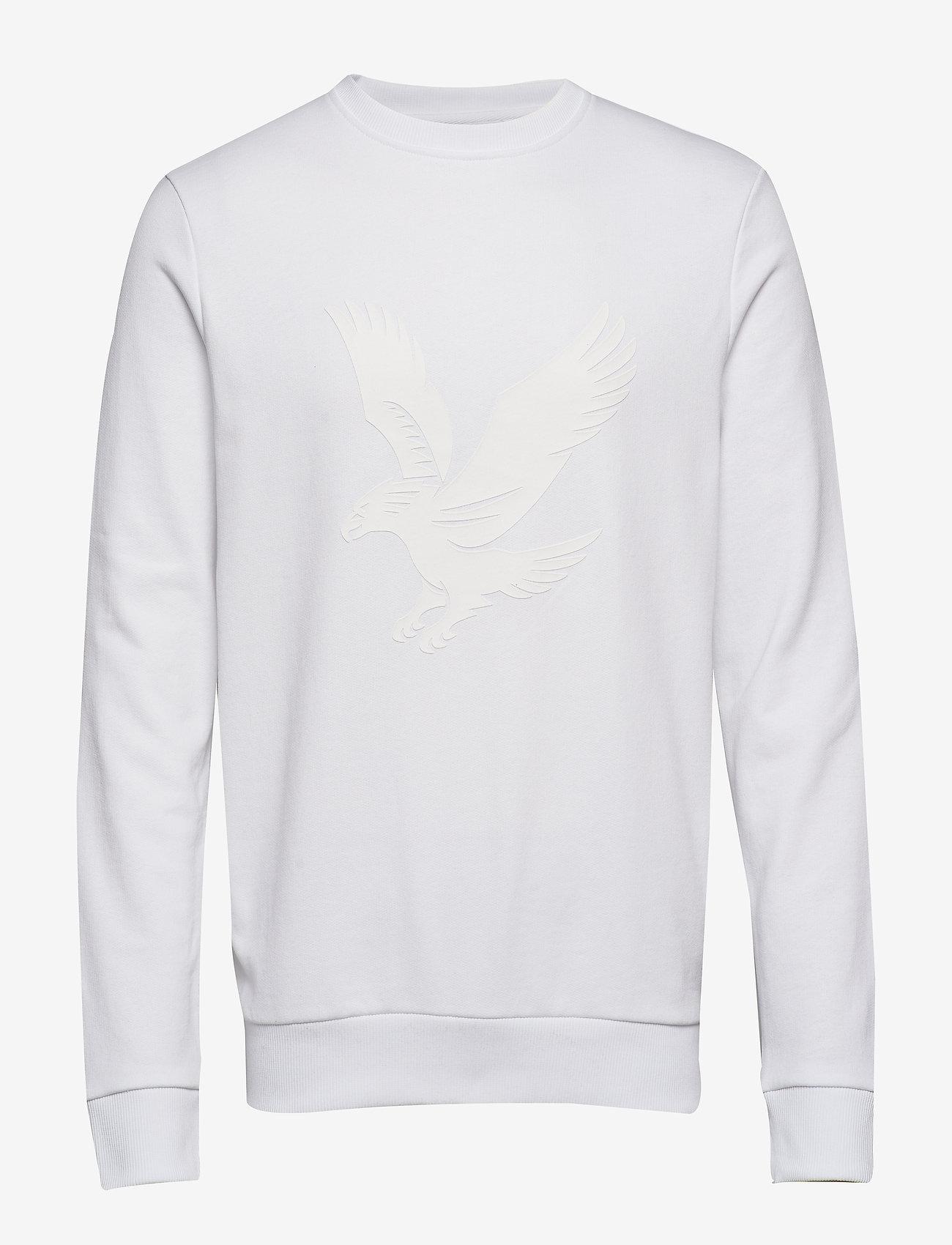 Lyle & Scott - Logo Sweatshirt - svetarit - white