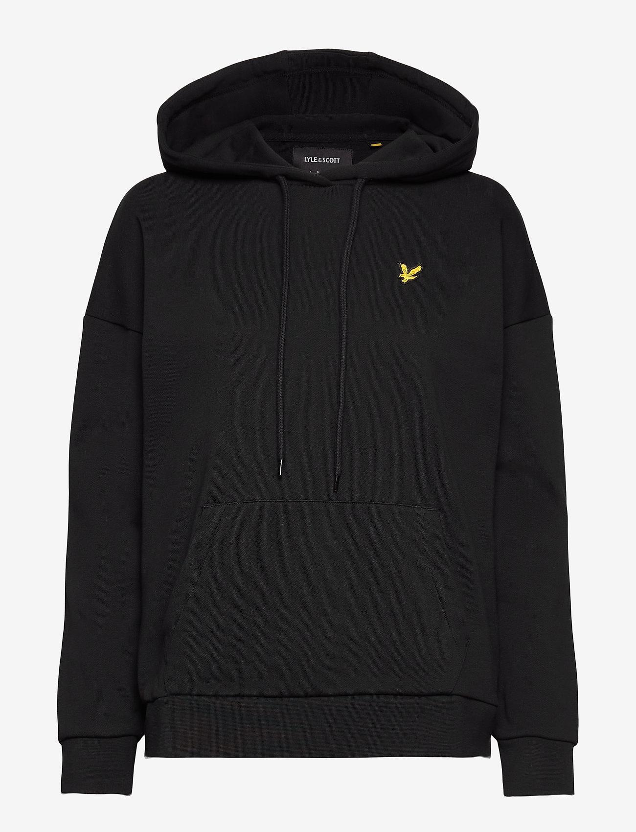 Lyle & Scott - Hoodie - sweatshirts & hættetrøjer - jet black - 0