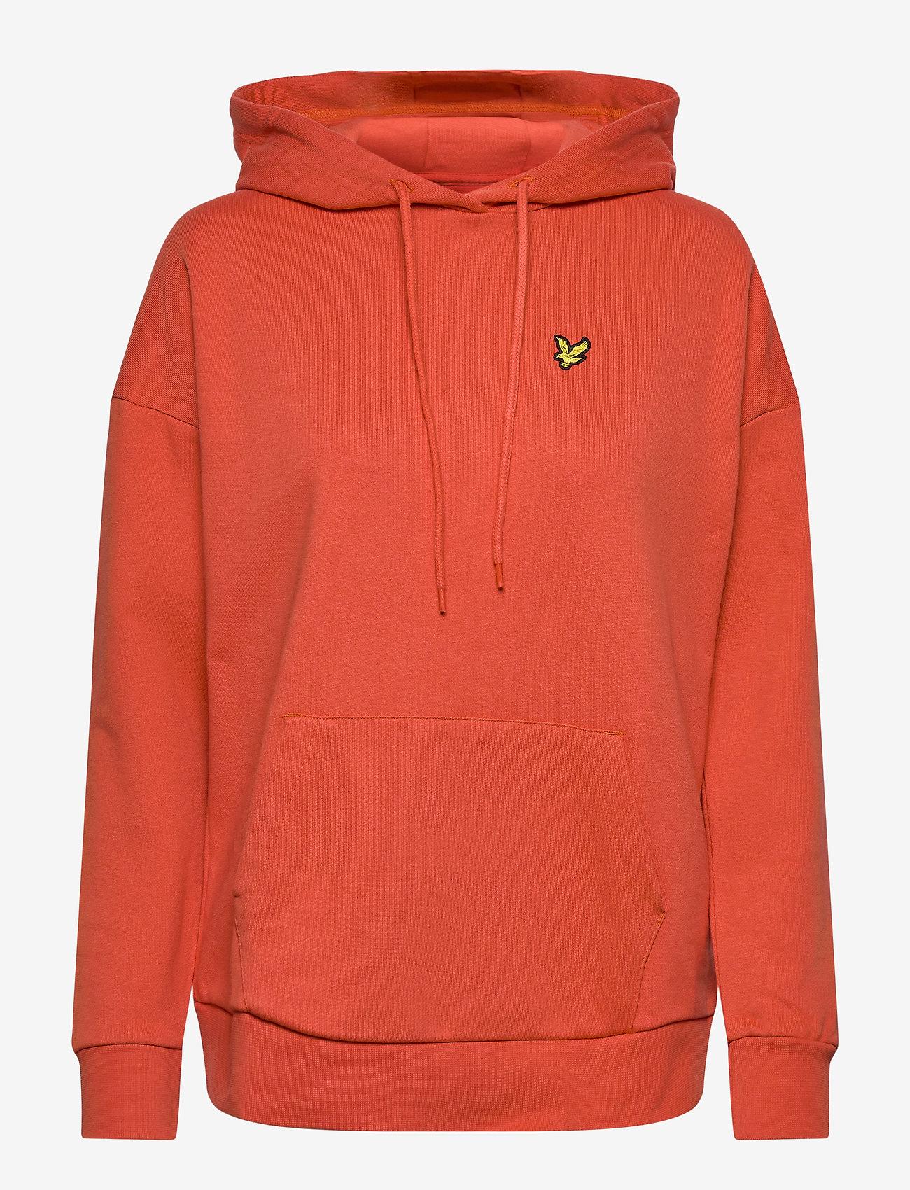 Lyle & Scott - Hoodie - sweatshirts & hoodies - paprika orange - 0