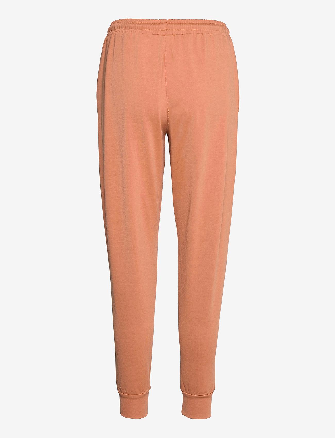 Lyle & Scott - Tricot Sweatpant - sweatpants - dusk orange - 1