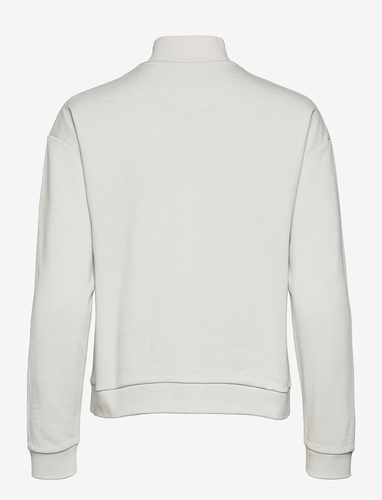 Lyle & Scott - 1/2 Zip Funnel Neck - sweatshirts en hoodies - cloud - 1