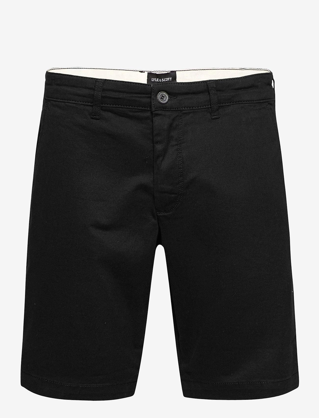 Lyle & Scott - Chino Short - short chino - jet black - 0