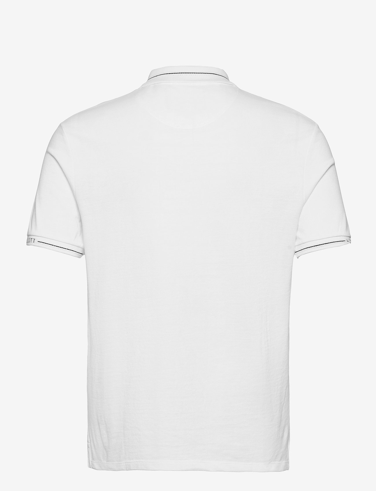 Lyle & Scott - Seasonal Branded Collar Polo Shirt - polos à manches courtes - white - 1