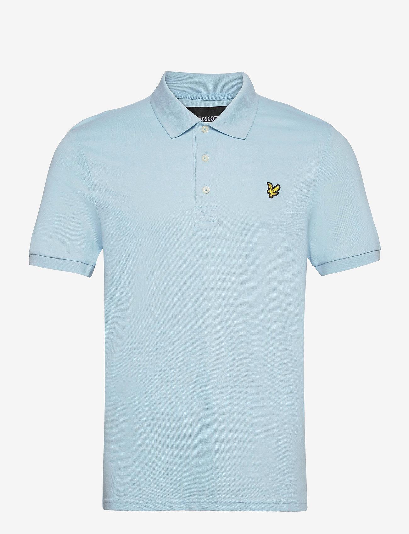 Lyle & Scott - Plain Polo Shirt - polos à manches courtes - deck blue - 0