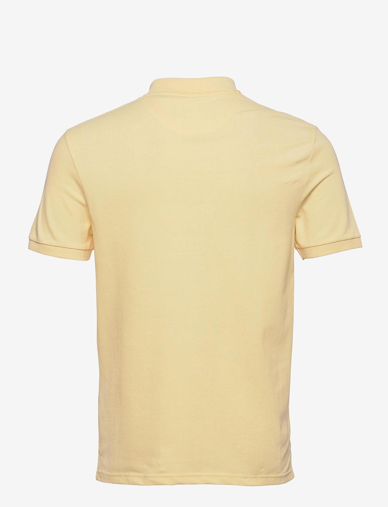 Lyle & Scott - Plain Polo Shirt - polos à manches courtes - lemon - 1