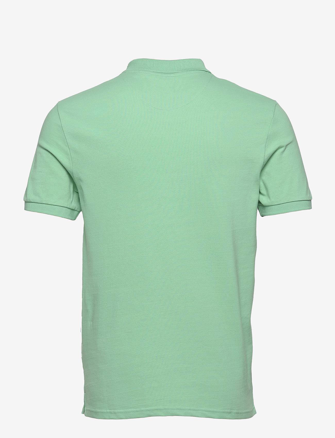 Lyle & Scott - Plain Polo Shirt - polos à manches courtes - sea mint - 1