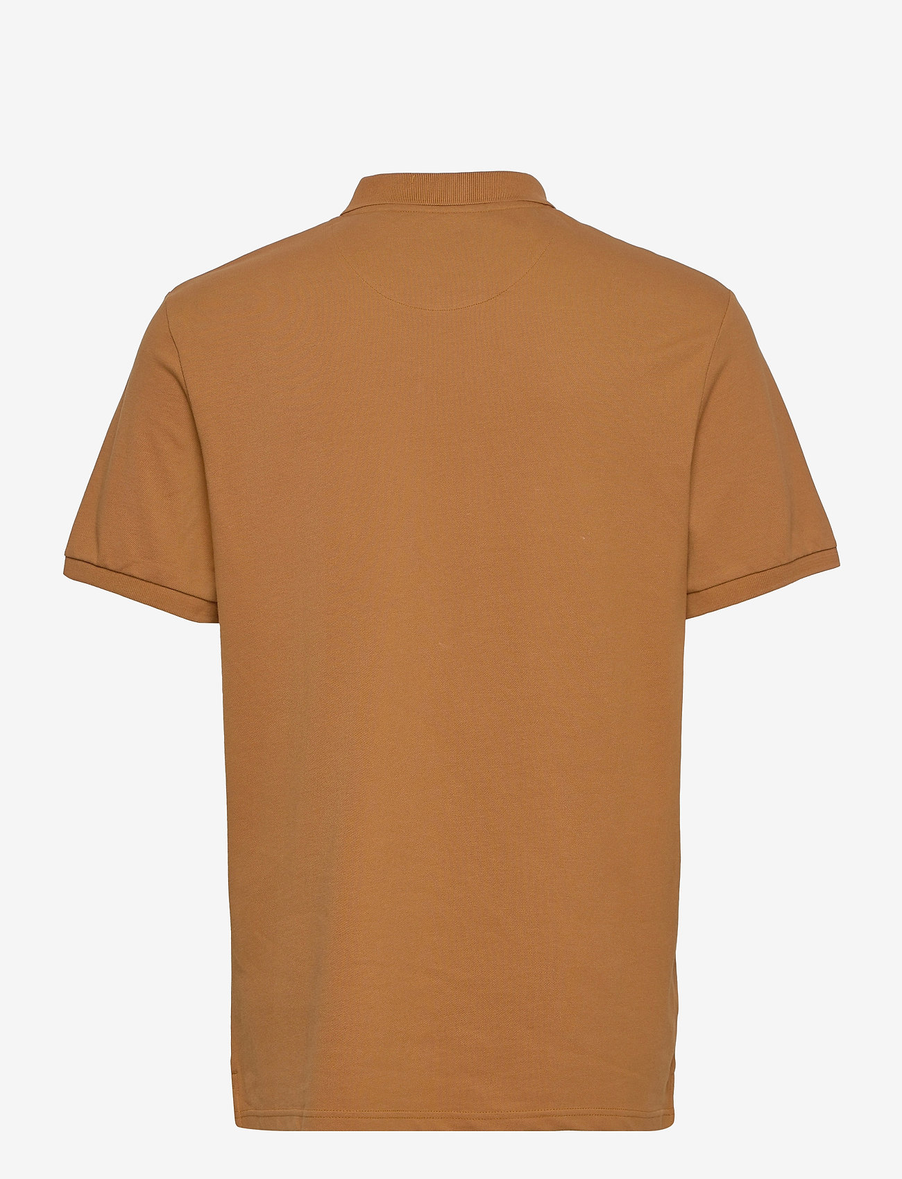 Lyle & Scott - Plain Polo Shirt - polos à manches courtes - tawny brown - 1