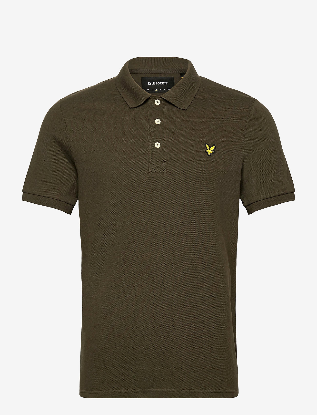 Lyle & Scott - Plain Polo Shirt - polos à manches courtes - trek green - 0