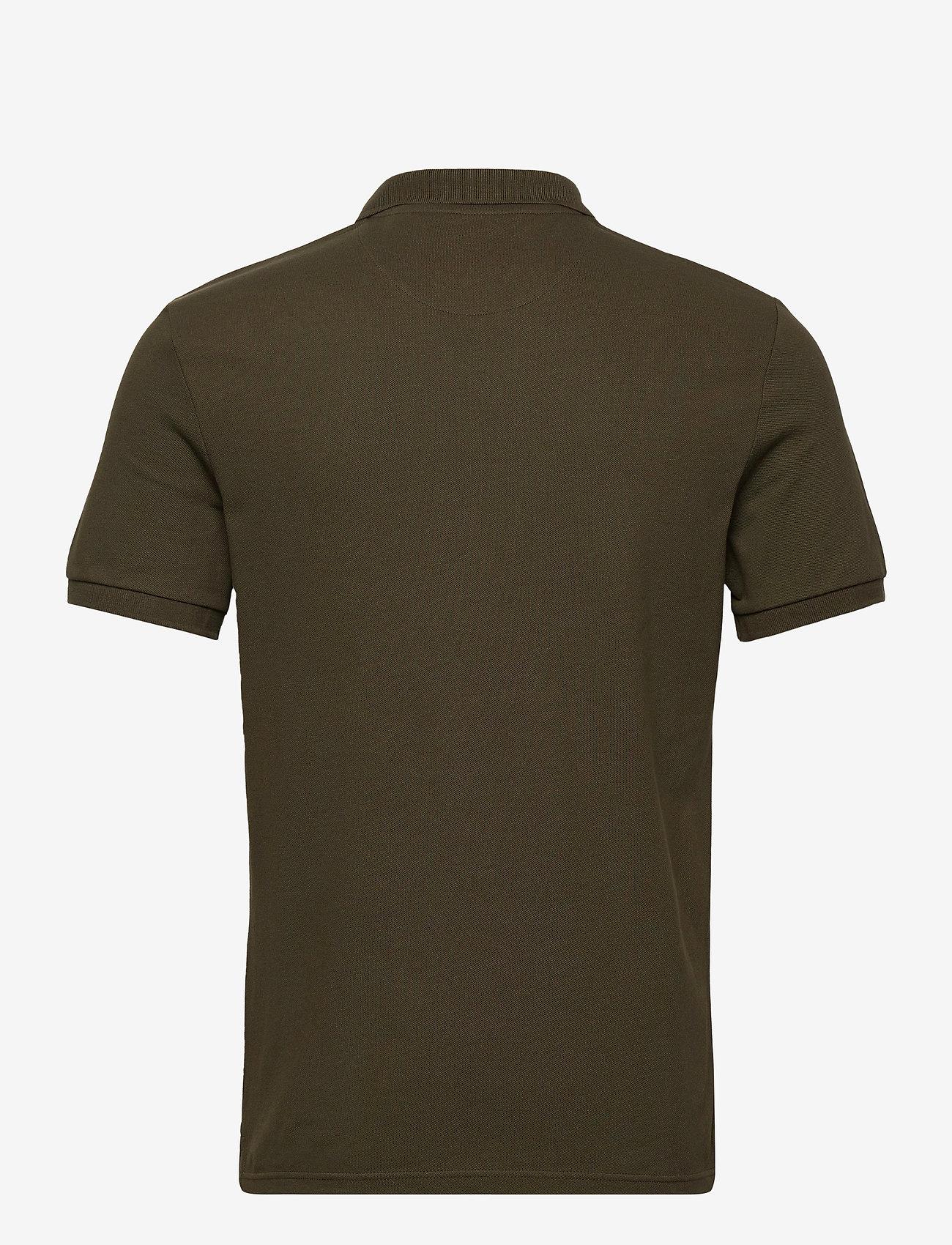 Lyle & Scott - Plain Polo Shirt - polos à manches courtes - trek green - 1