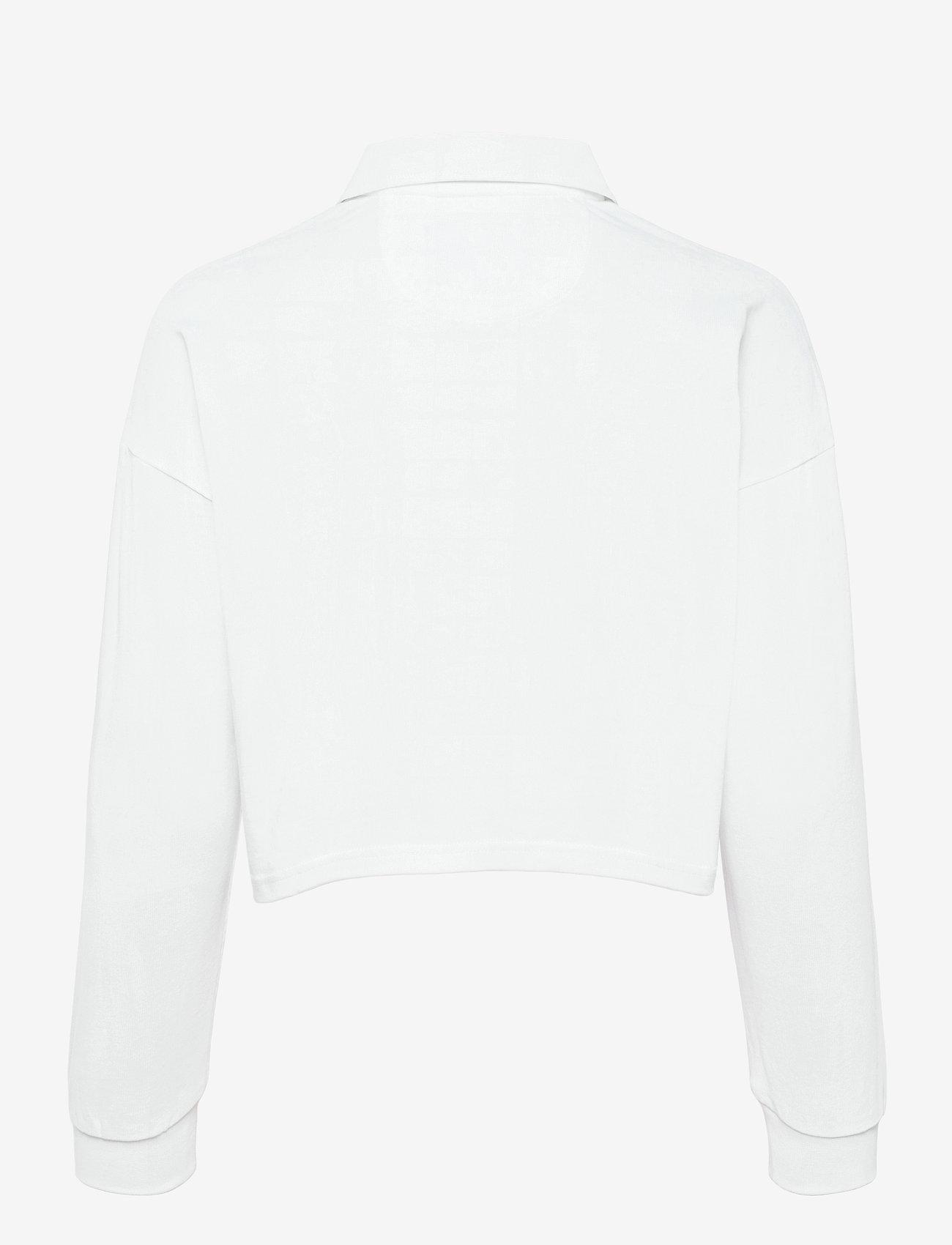 Lyle & Scott - Cropped Rugby Shirt - polohemden - white - 1