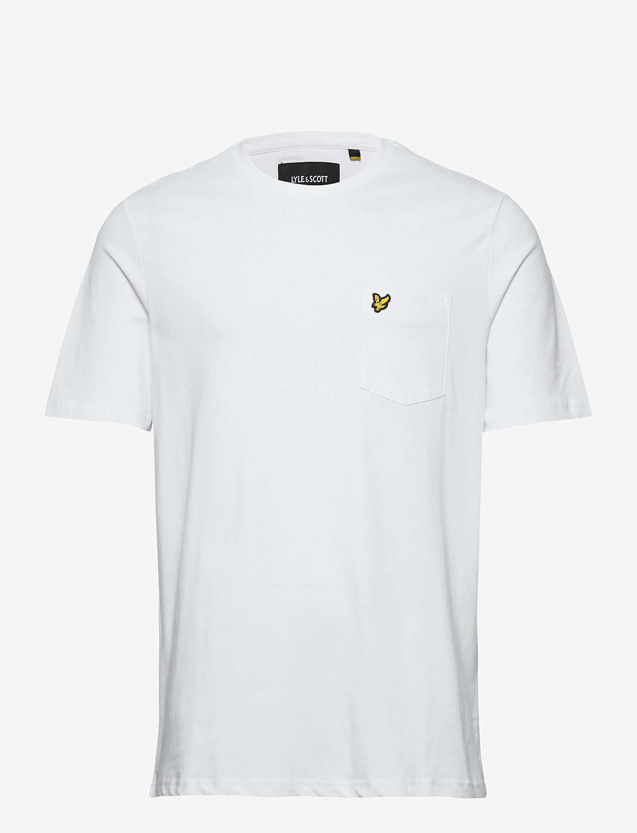Lyle & Scott - Relaxed Pocket T-shirt - t-shirts basiques - white - 0