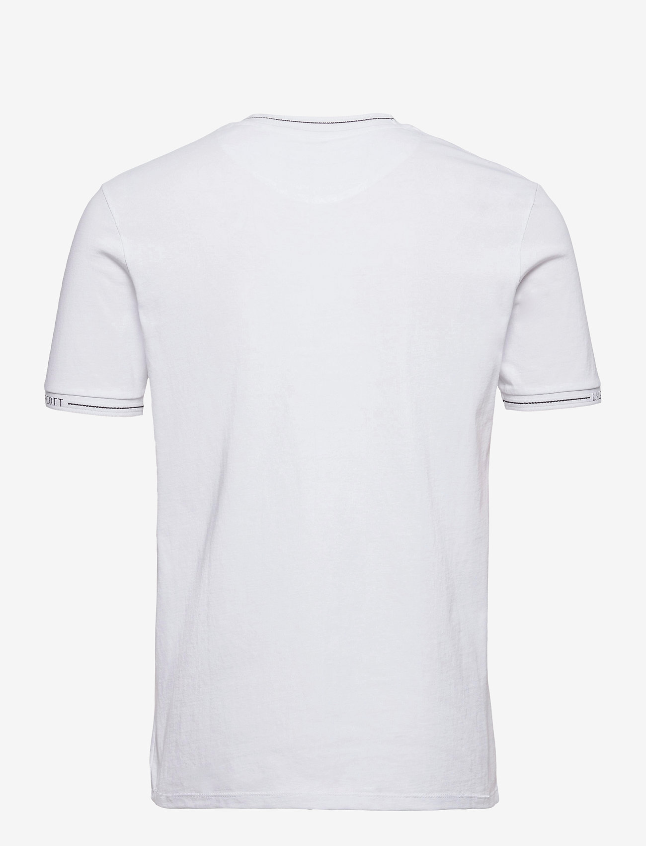 Lyle & Scott - Seasonal Branded Ringer T-shirt - t-shirts basiques - white - 1