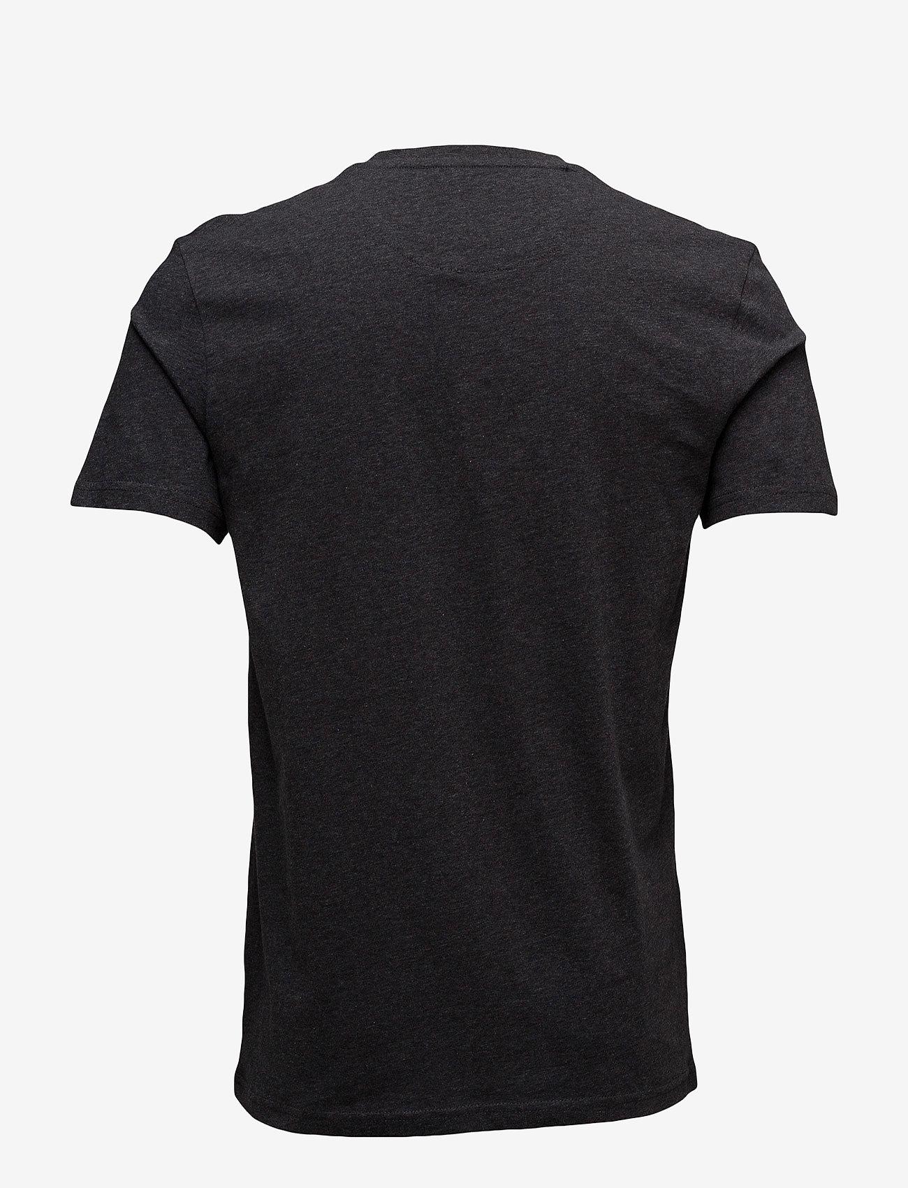 Lyle & Scott Crew Neck T-Shirt - T-skjorter CHARCOAL MARL - Menn Klær