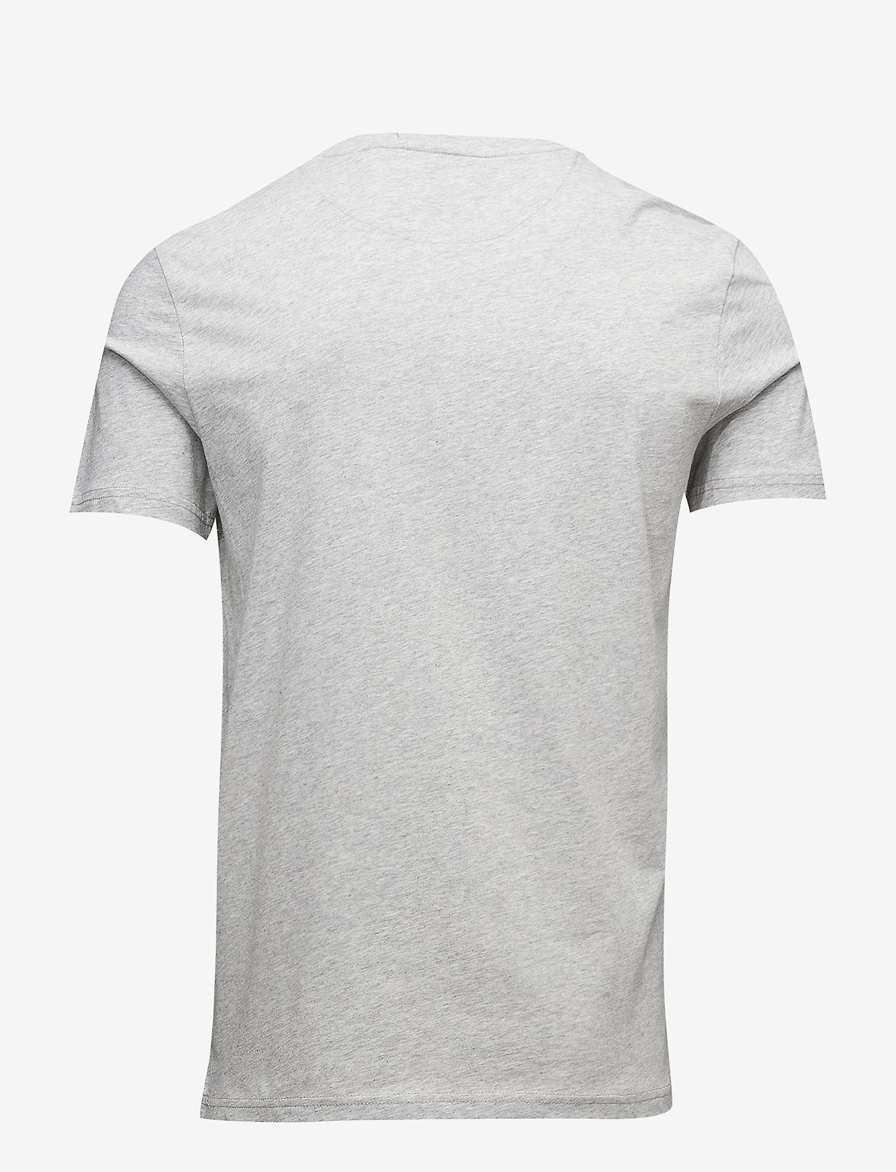 Lyle & Scott Crew Neck T-Shirt - T-skjorter LIGHT GREY MARL - Menn Klær