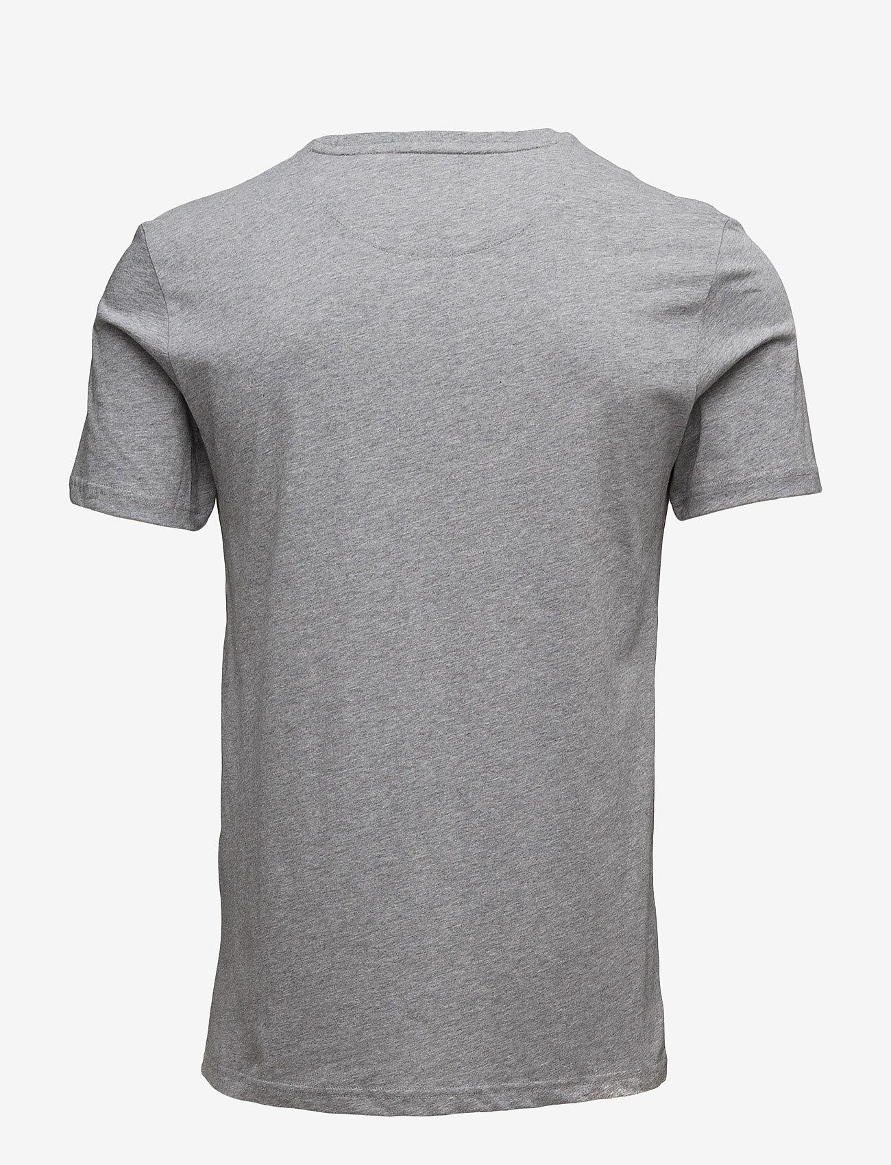 Lyle & Scott Crew Neck T-Shirt - T-skjorter MID GREY MARL - Menn Klær