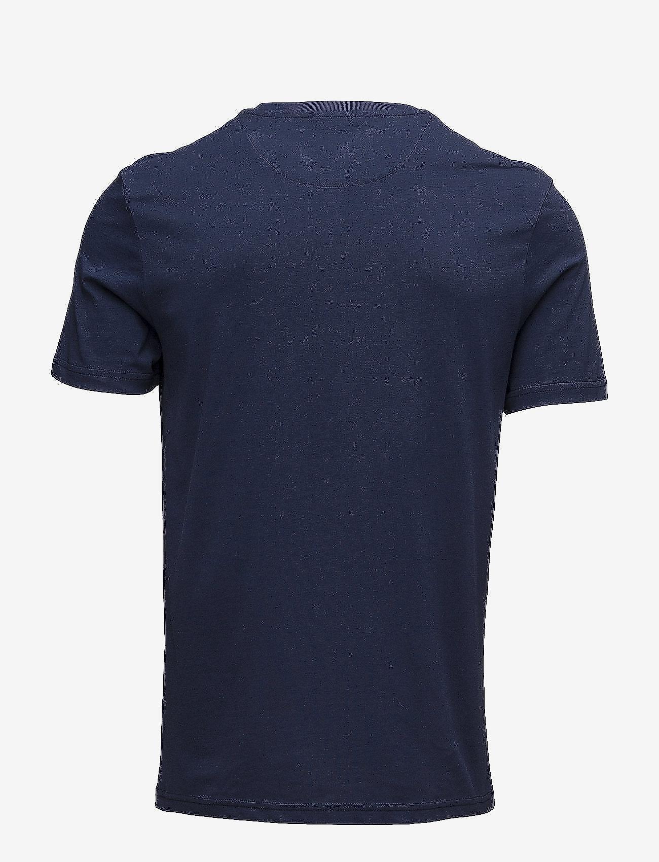 Lyle & Scott Crew Neck T-Shirt - T-skjorter NAVY - Menn Klær