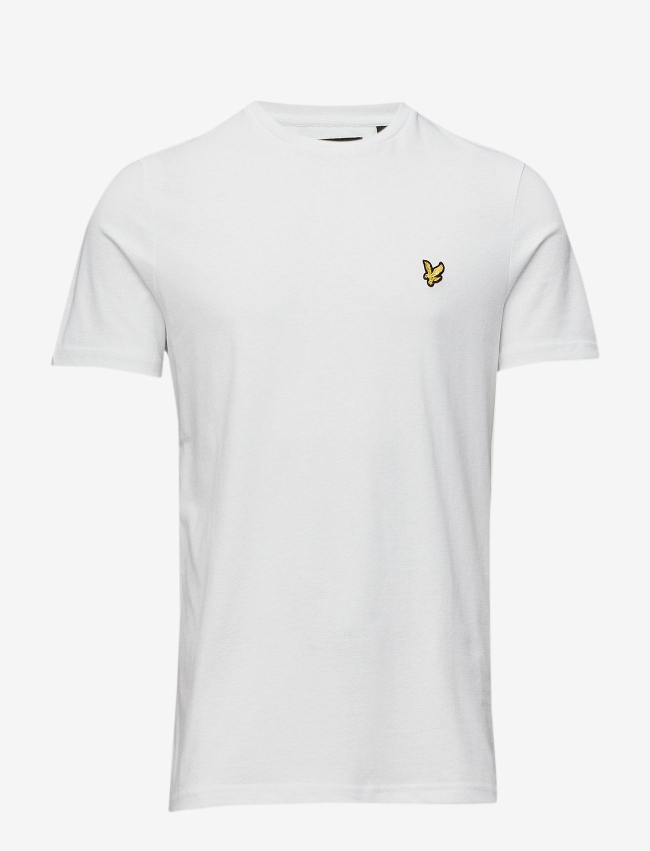 Lyle & Scott - Crew Neck T-Shirt - basic t-krekli - white - 0
