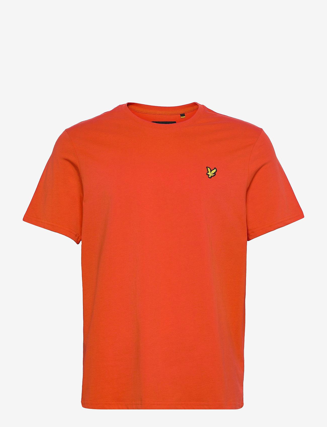 Lyle & Scott - Plain T-Shirt - basic t-shirts - burnt orange - 0