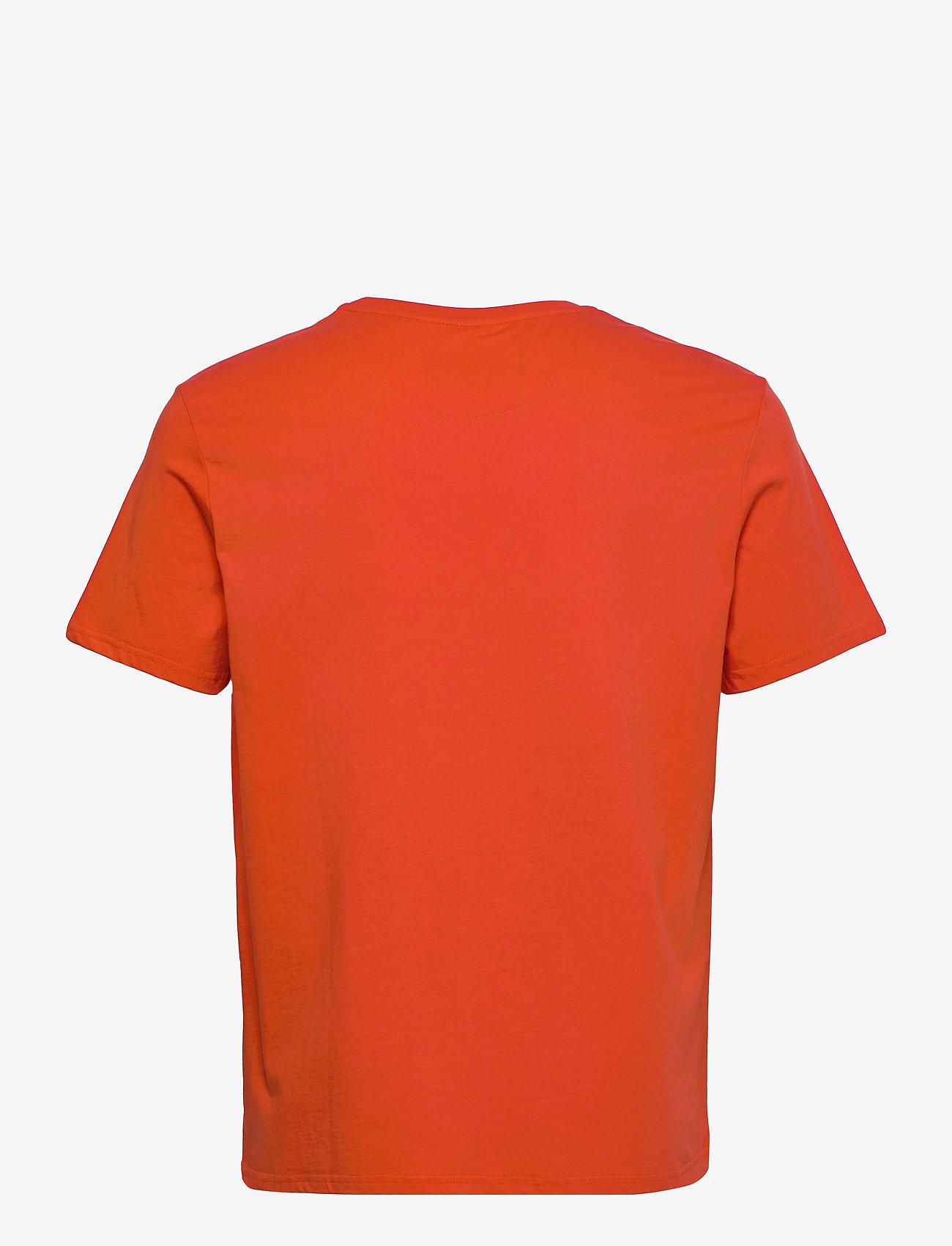 Lyle & Scott - Plain T-Shirt - basic t-shirts - burnt orange - 1