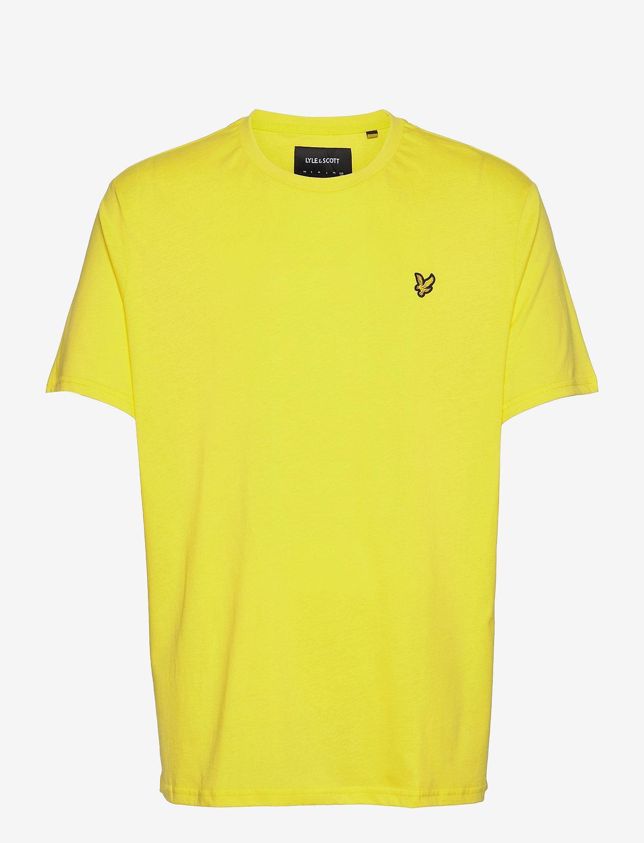 Lyle & Scott - Plain T-Shirt - t-shirts basiques - buttercup yellow - 0