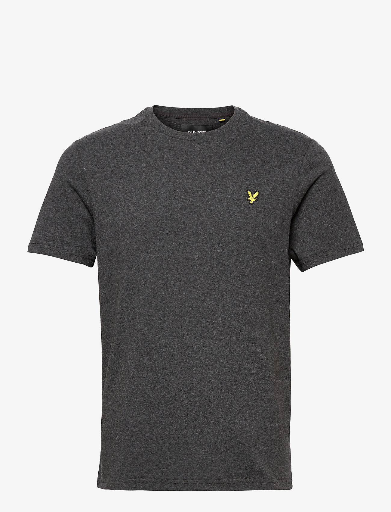 Lyle & Scott - Plain T-Shirt - basic t-shirts - charcoal marl - 0
