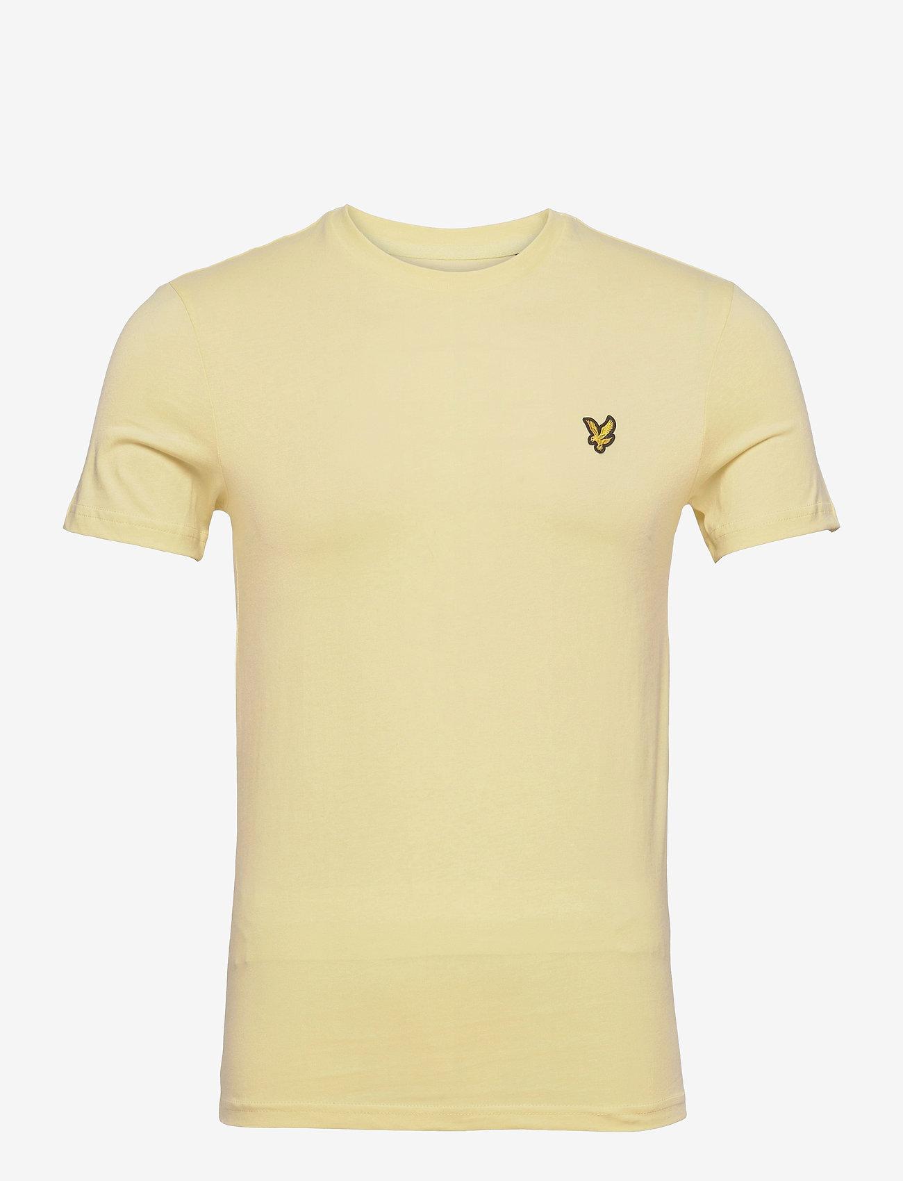 Lyle & Scott - Plain T-Shirt - t-shirts basiques - lemon - 0