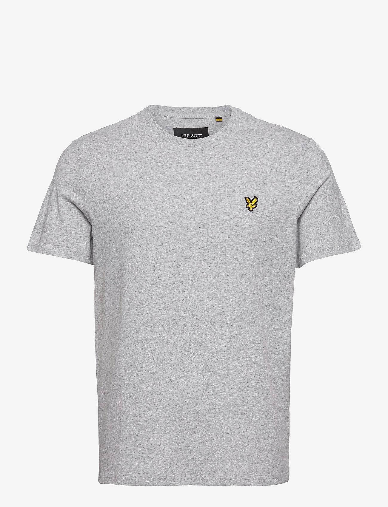 Lyle & Scott - Plain T-Shirt - t-shirts basiques - light grey marl - 0