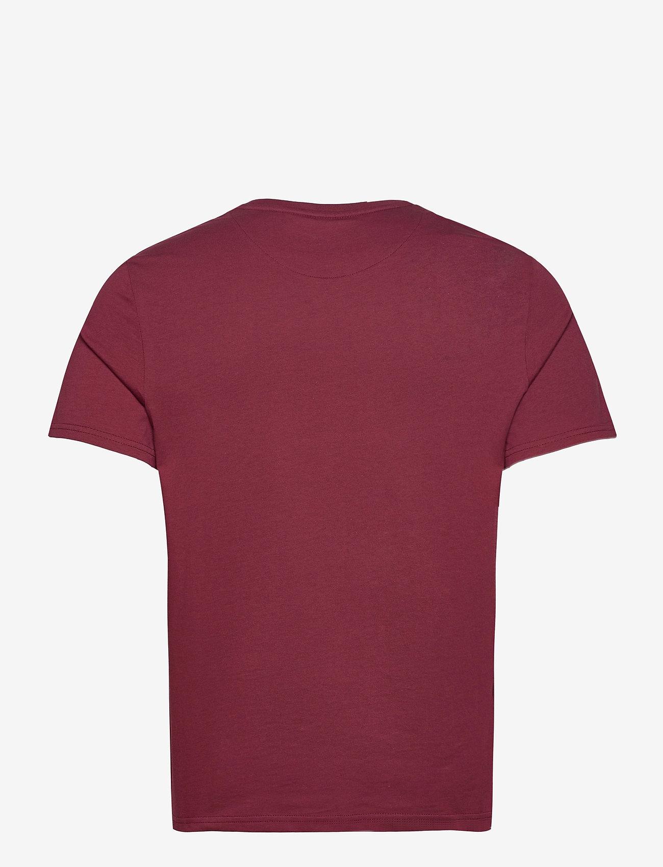 Lyle & Scott - Plain T-Shirt - t-shirts basiques - merlot - 1
