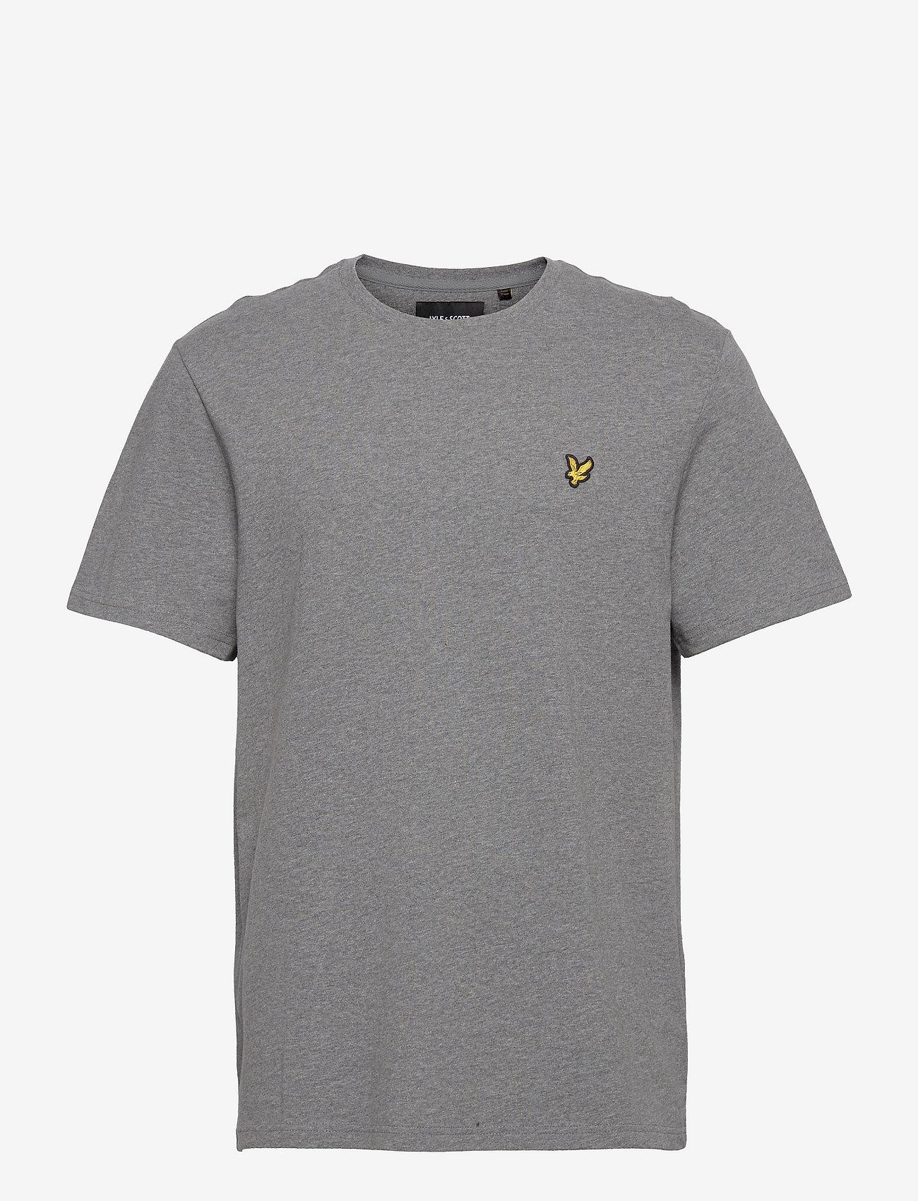 Lyle & Scott - Plain T-Shirt - podstawowe koszulki - mid grey marl - 0