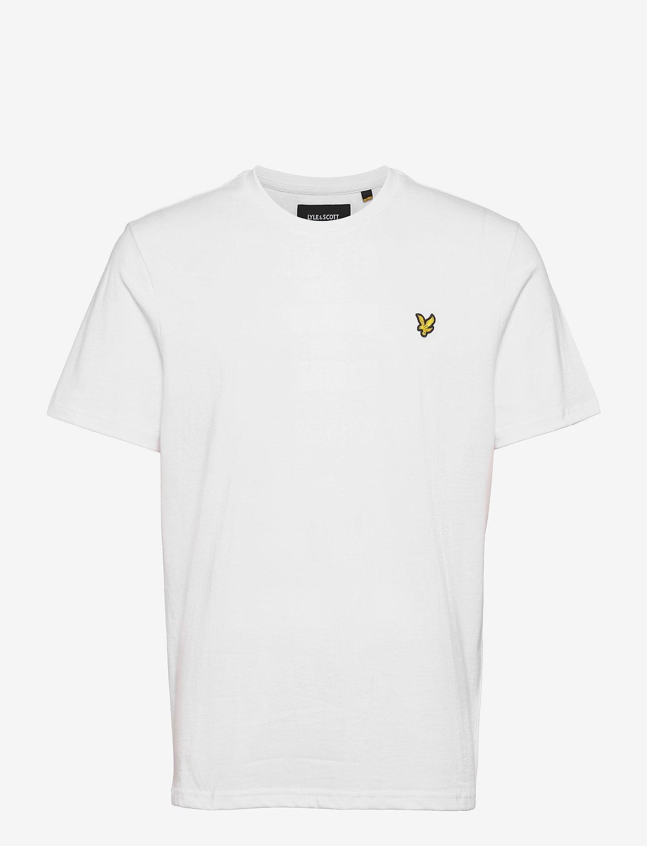 Lyle & Scott - Plain T-Shirt - t-shirts basiques - white - 0