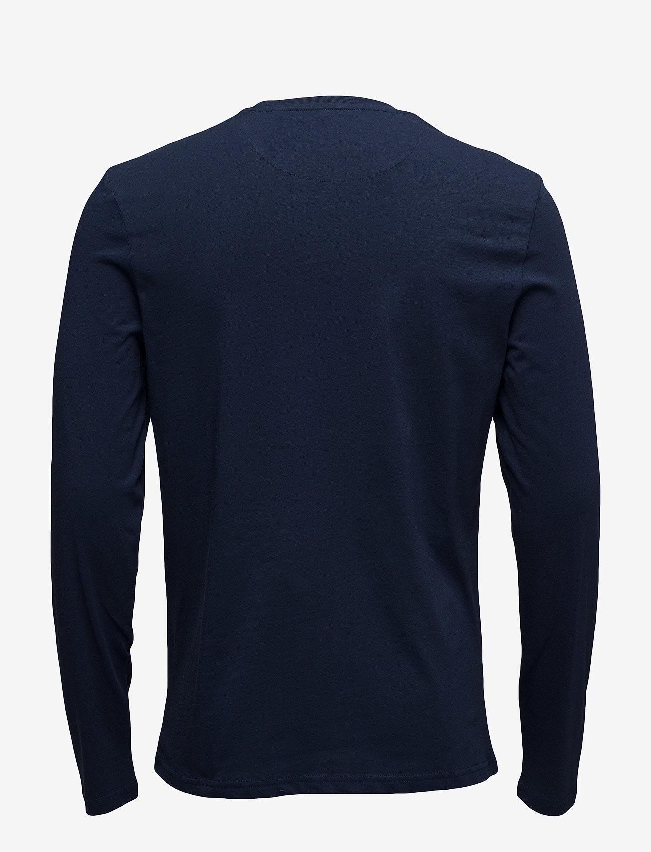 Lyle & Scott LS Crew Neck T-shirt - T-skjorter NAVY - Menn Klær