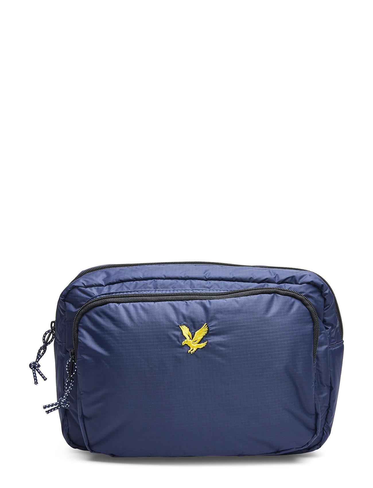 Lyle & Scott Wadded Side Bag - NAVY