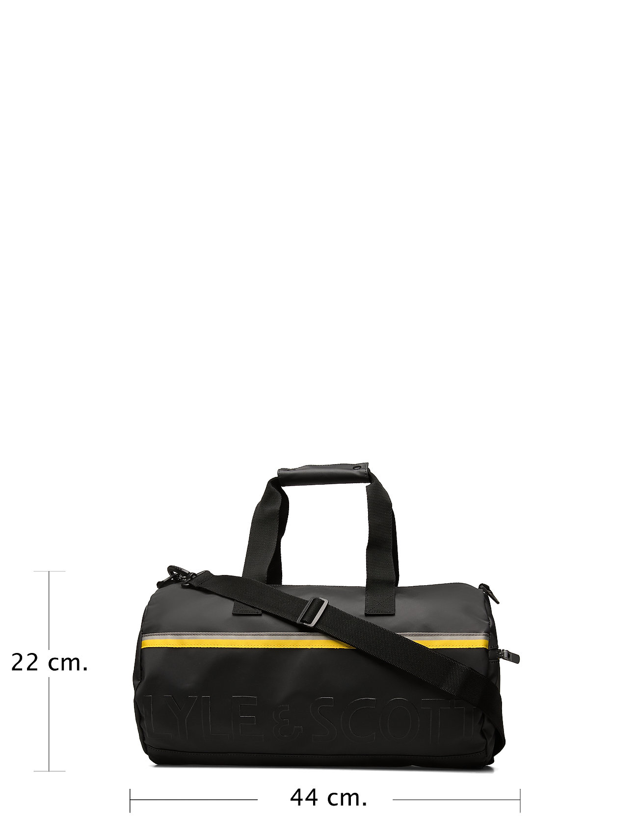 Lyle & Scott Overnight Bag - Torby weekendowe TRUE BLACK - Torby