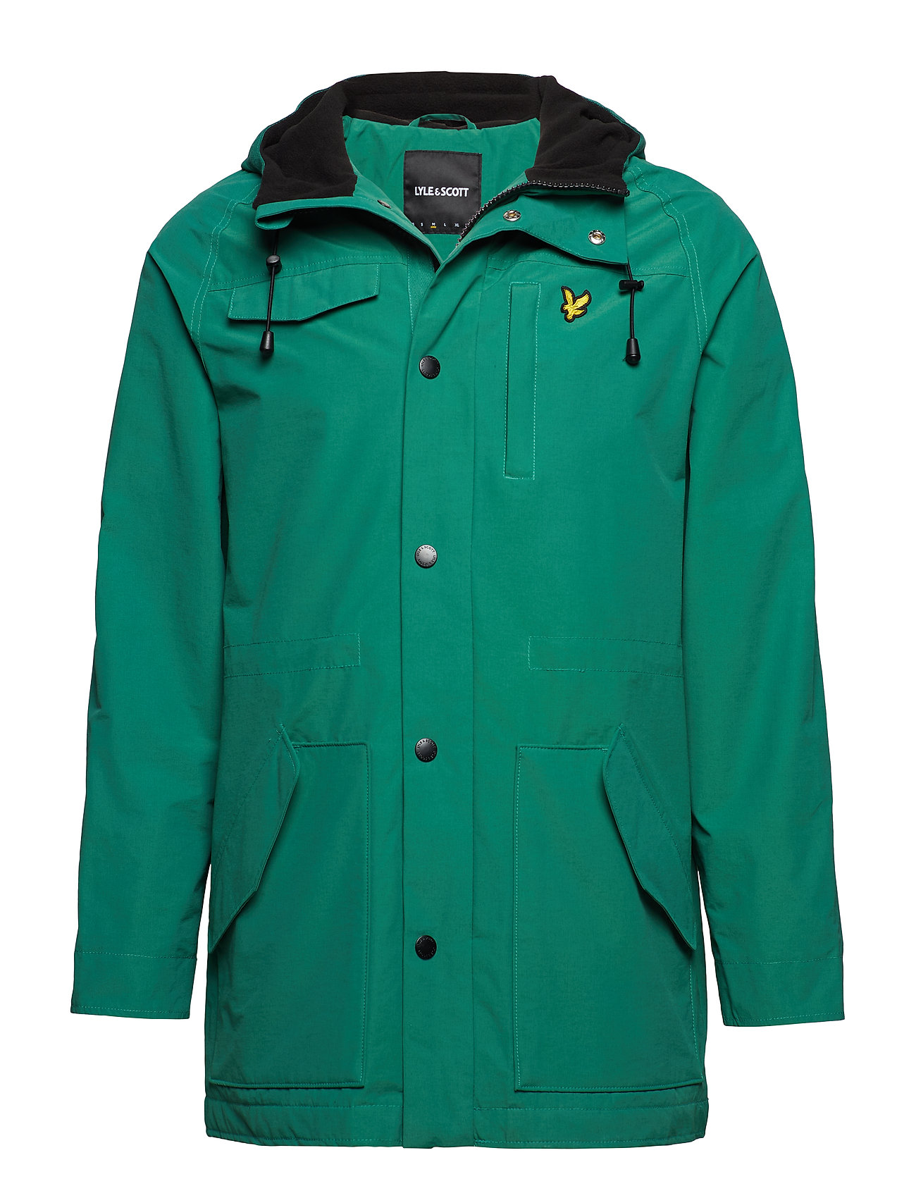 Lyle & Scott Microfleece Lined Parka - ALPINE GREEN