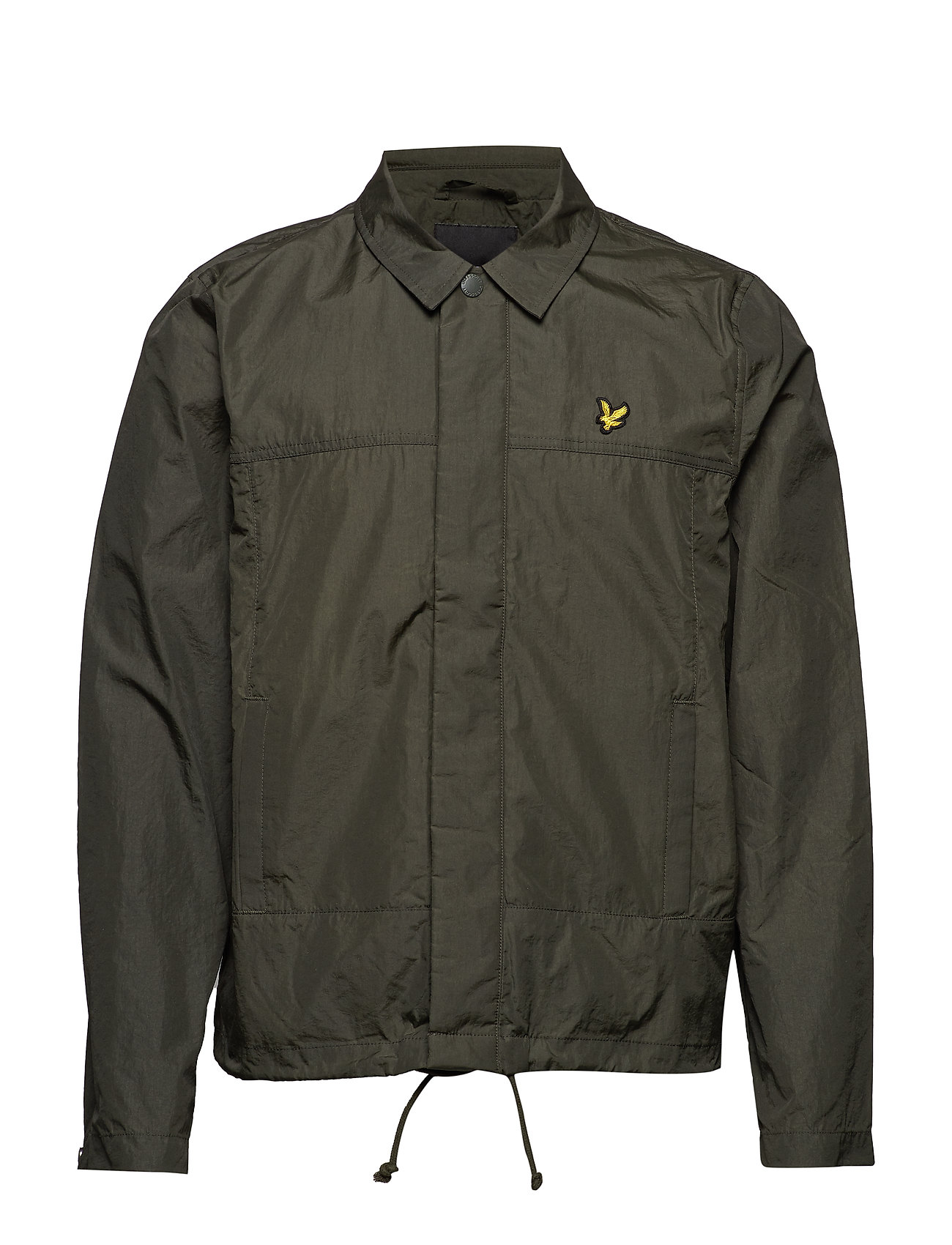 Lyle & Scott Coach Jacket - DARK SAGE