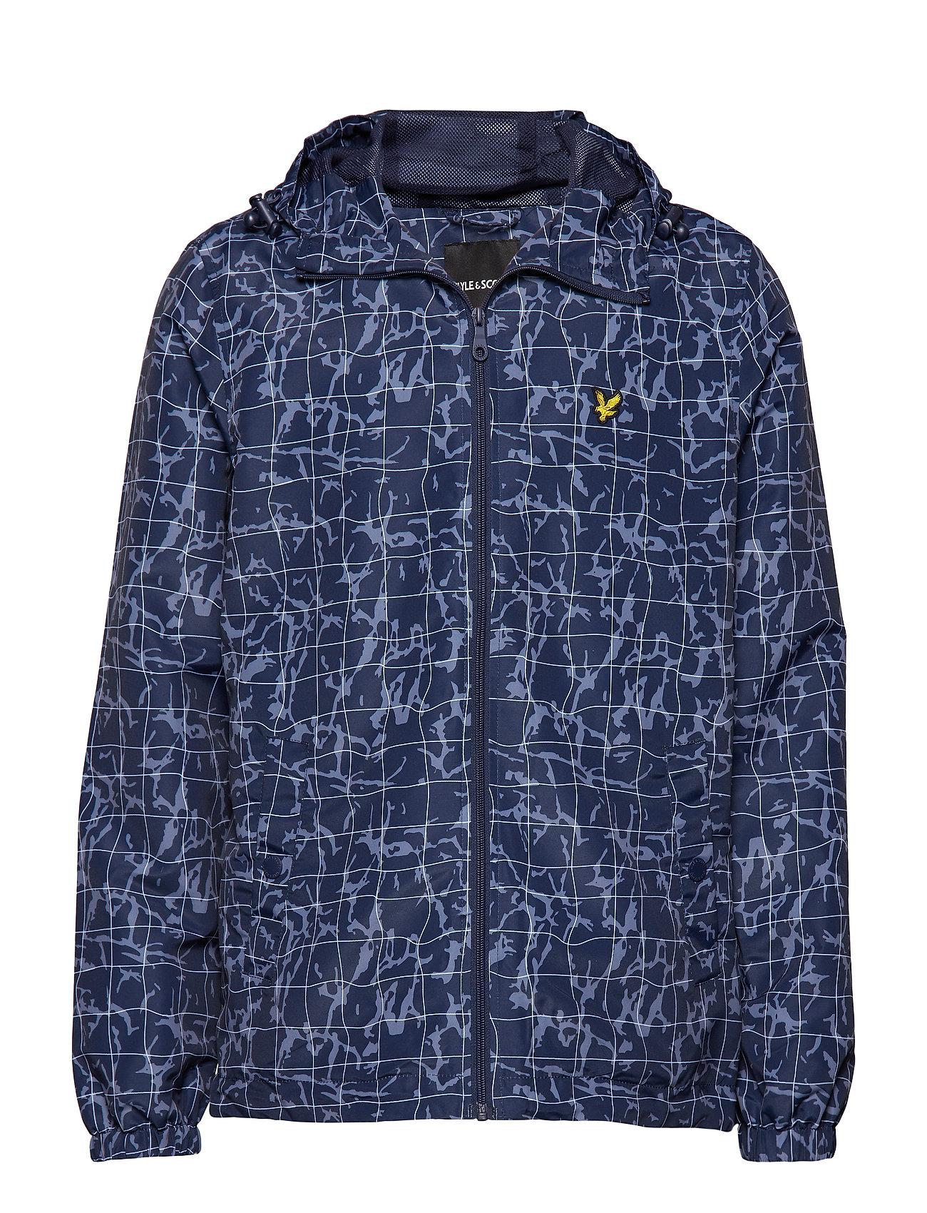Lyle & Scott Printed Zip Through Jacket Ytterkläder