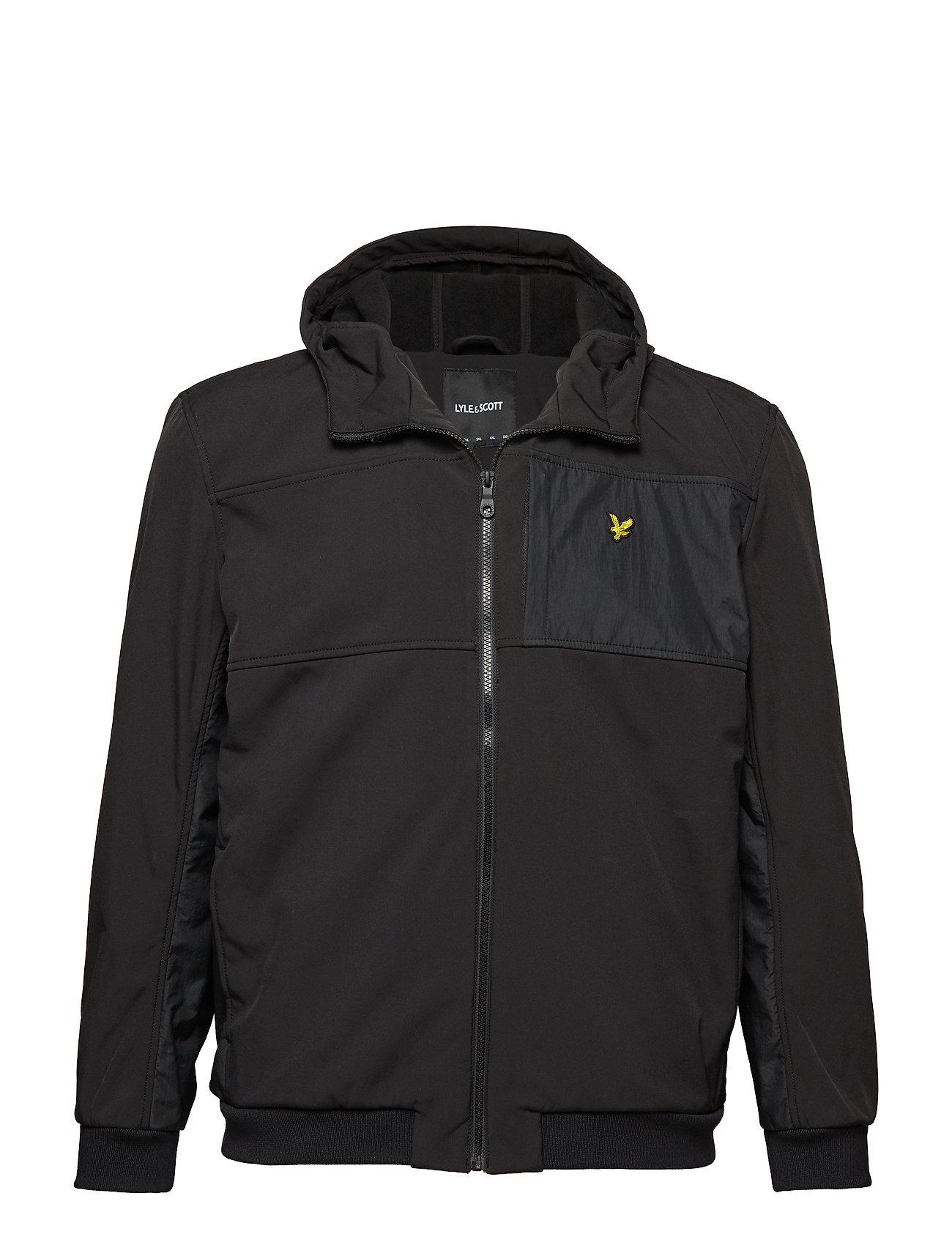 Lyle & Scott Softshell Jacket - TRUE BLACK